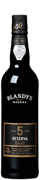 Blandy's 5 Years Old Rich Reserva 50cl