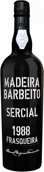 Barbeito Sercial Frasqueira - Manuel Eugénio Fernandes