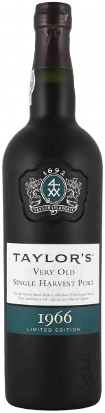 Taylor's Very Old Single Harvest Port