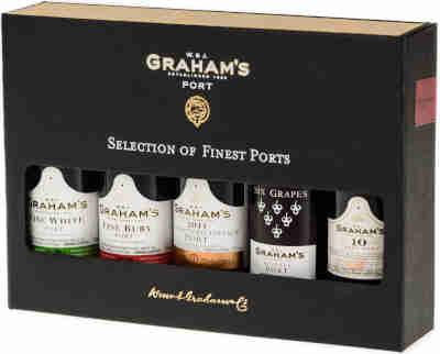 Graham's 5er Port Miniaturen Set