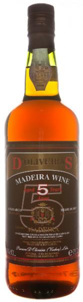 D'Oliveira 5 Years Old Medium Dry