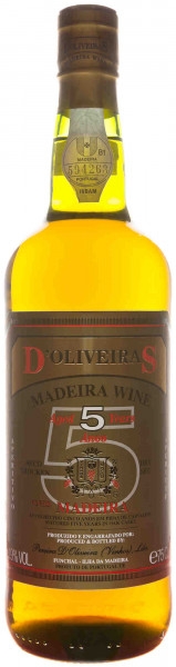 D'Oliveira 5 Years Old Dry